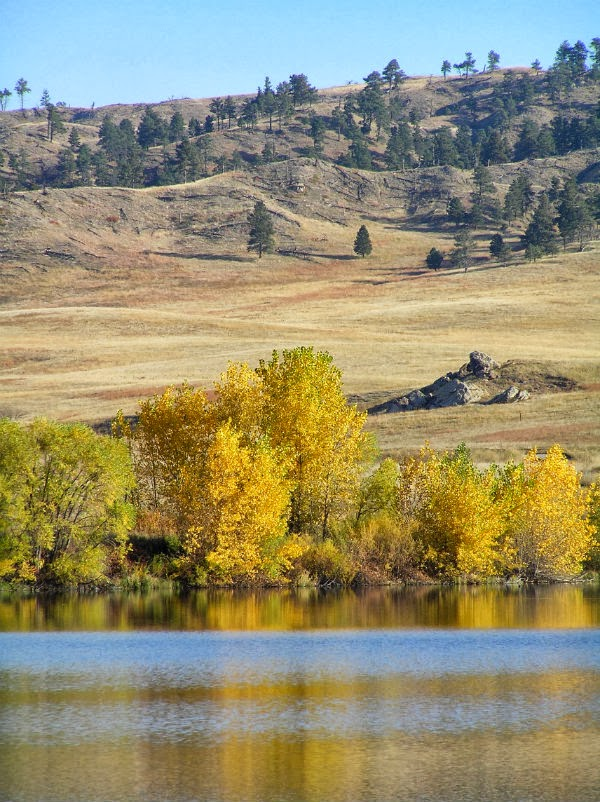 Western Nebraska in the Fall Fort Robinson Area