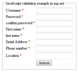 JavaScript validation in asp.net website ~ Asp.Net,C#.Net,VB.Net ...