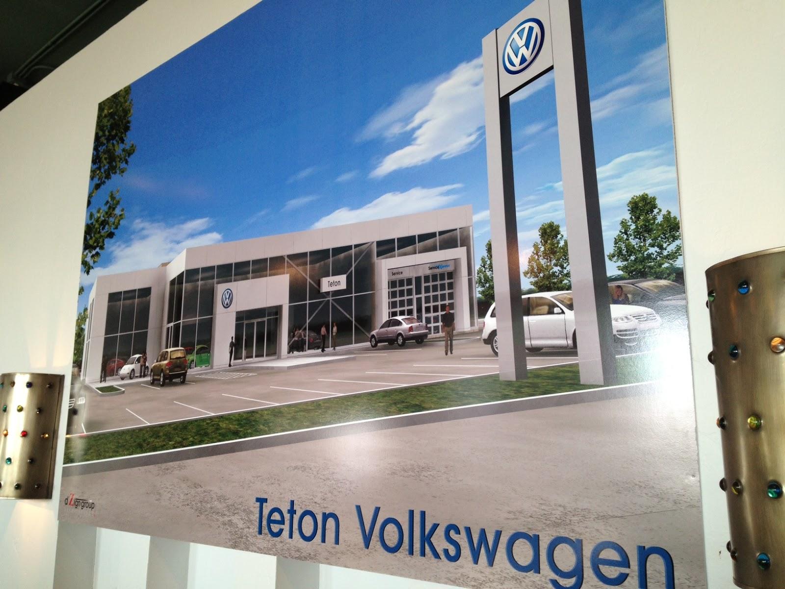 BizMojo Idaho: Teton Volkswagen hosts I.F. Chamber for ribbon cutting