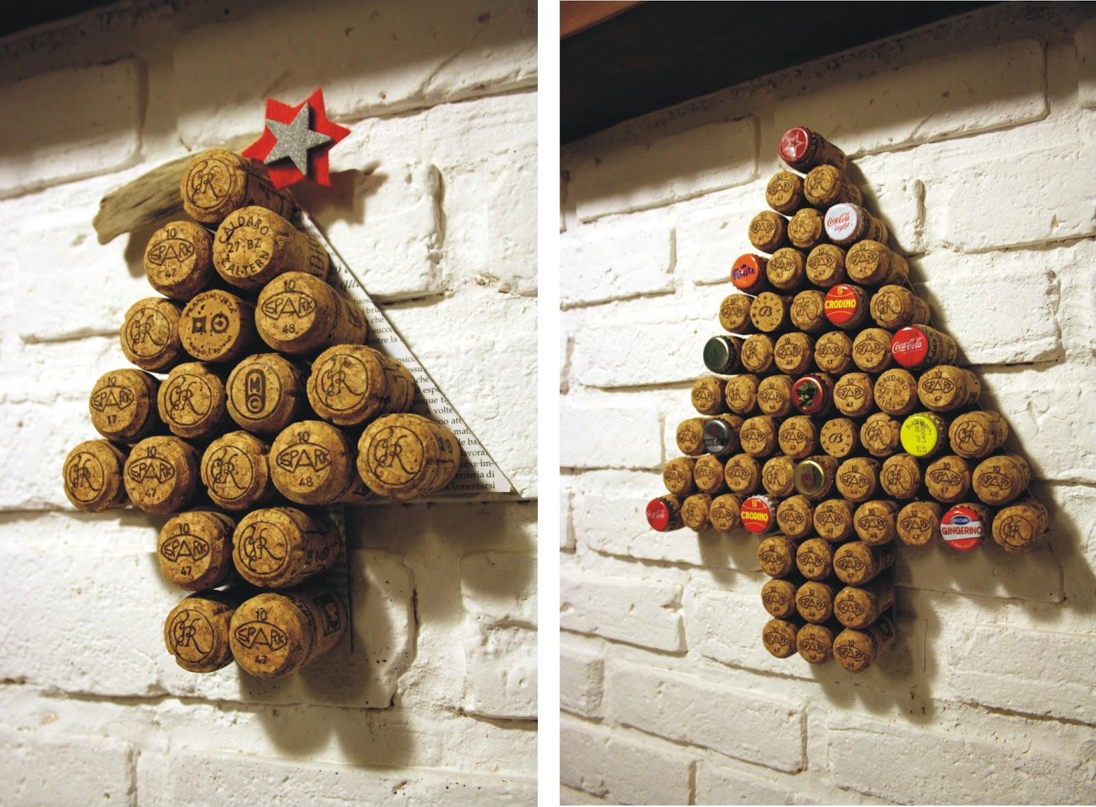 Il baule delle idee handmade riciclo alberi di natale - Foto di alberi di natale decorati ...