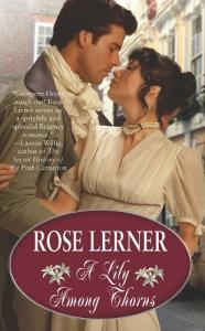 Guest Review: A Lily Among Thorns by Rose Lerner
