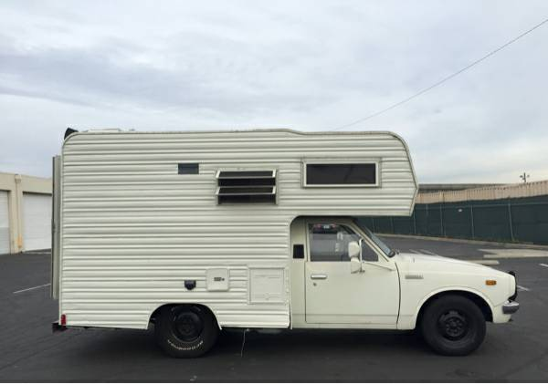used rvs 1977 toyota chinook reliable rv for sale by owner. Black Bedroom Furniture Sets. Home Design Ideas