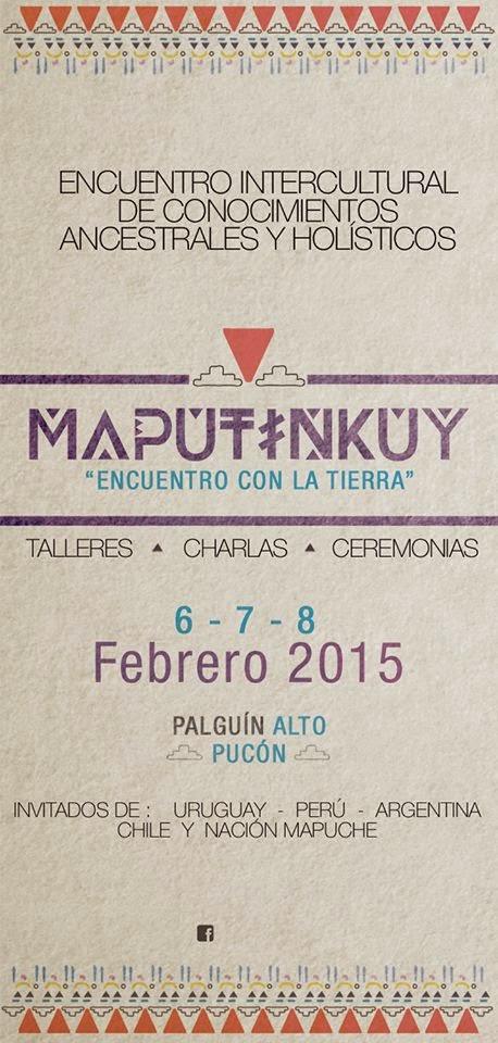Maputinkuy 2015 Palguín-Pucón