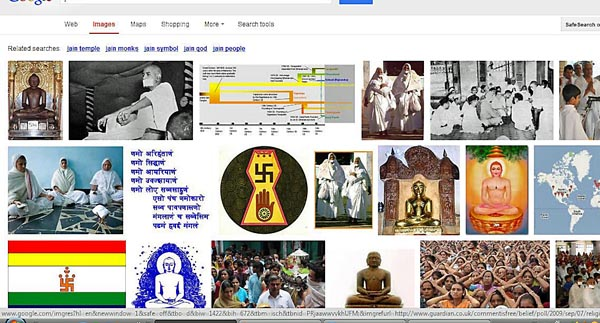 google search results for Jains