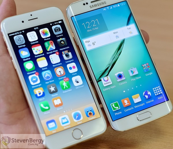 Apple iPhone 6s Plus vs Samsung Galaxy S6 Edge Plus