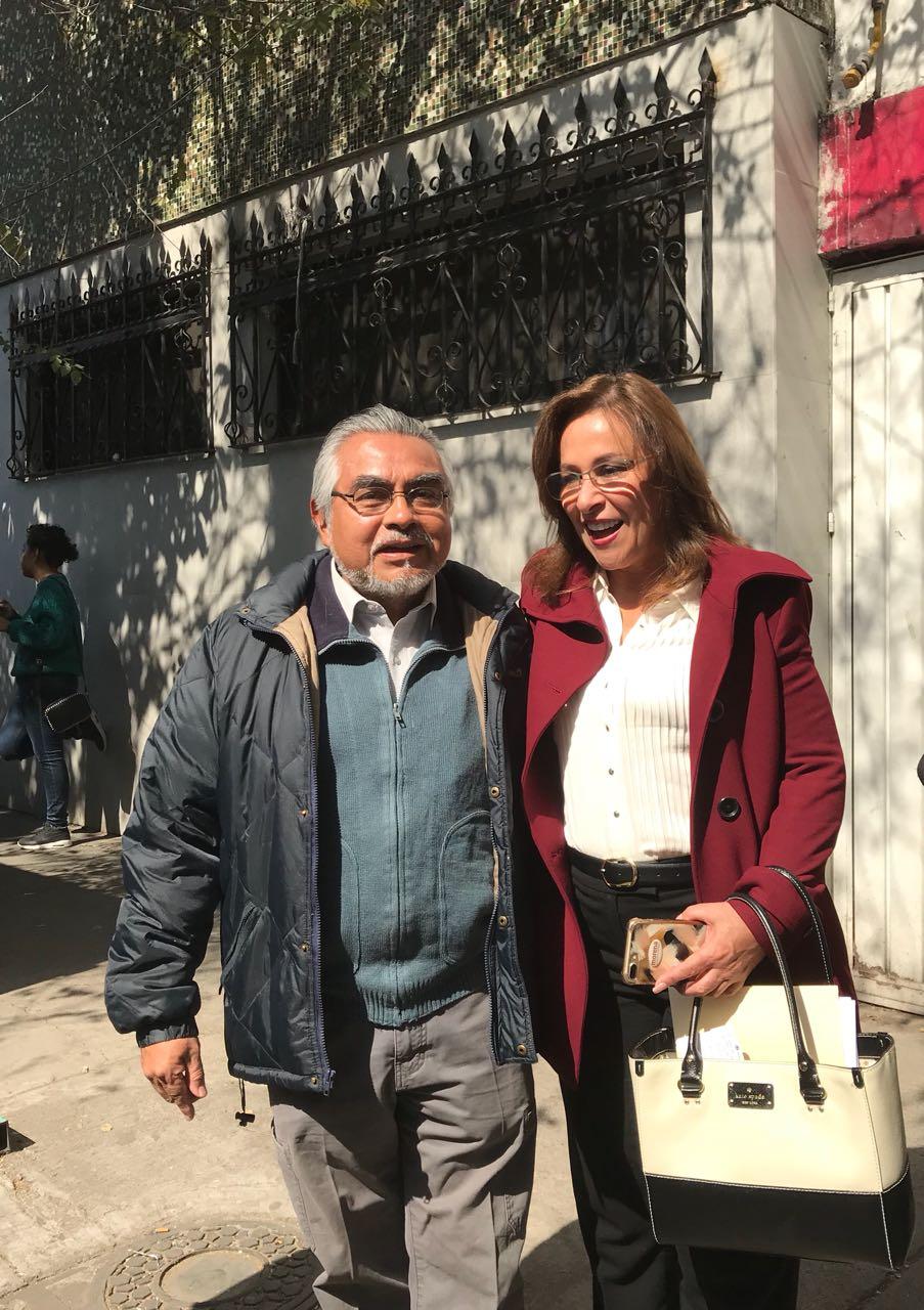 MARCO ANTONIO MEDINA PÉREZ EN EL REGISTRO INTERNO DE MORENA DE ROCÍO NAHLE