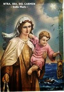 Nuestra Señora del Carmen.