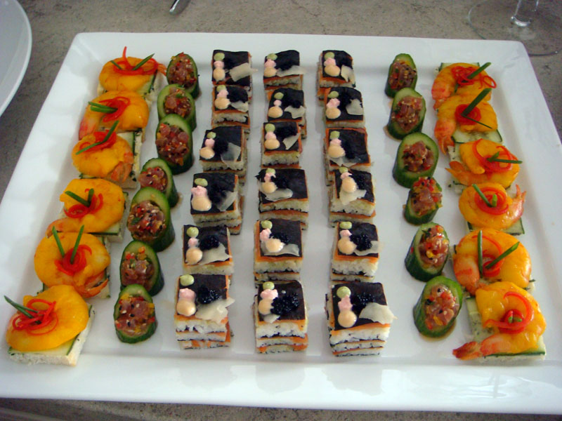 Uncorked chef for Canape garnishes