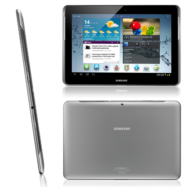 Samsung Galaxy Tab 2 10.1 P5100 specs side camera