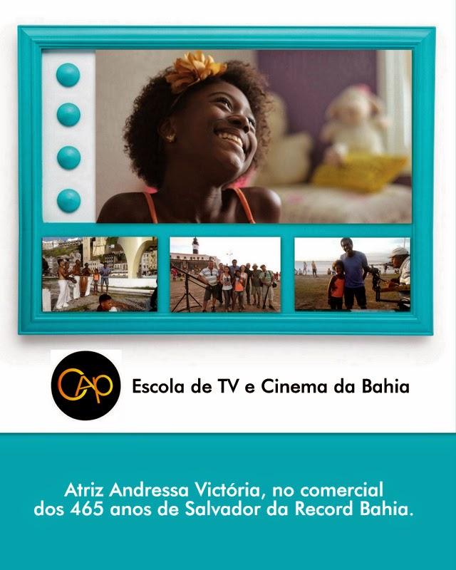 Andressa Victoria - VT Record Bahia
