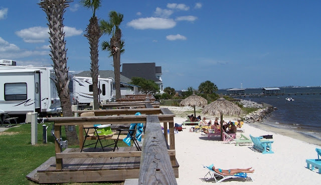 Rv Beach Vacation Destination
