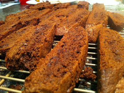 Double Chocolate Fennel Biscotti