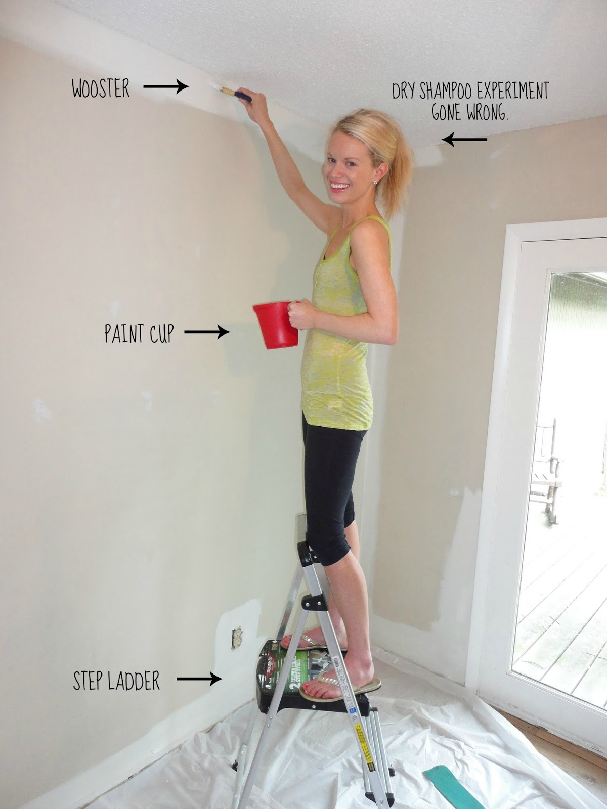 Livelovediy how to paint a room - How we paint your room ...