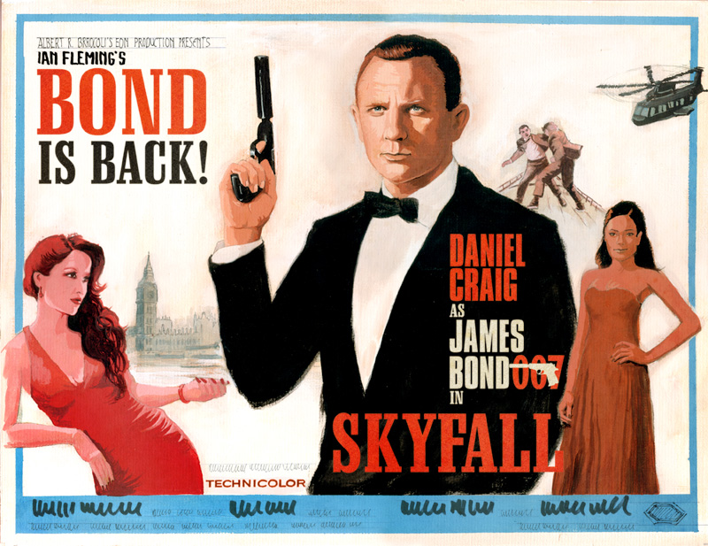 james bond 007 posters - photo #6