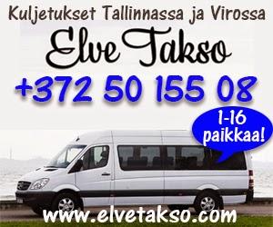 Elve Takso, Elven Taksi, www.elvetakso.com, Tallinna, Taksi