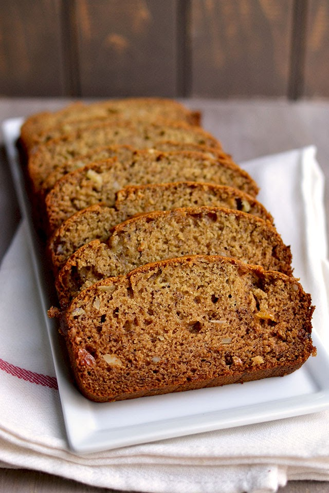 Banana Bread with Honey