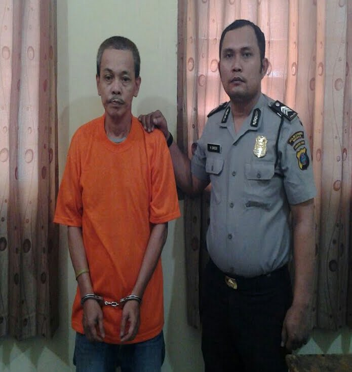 Lewat Aplikasi Polisi kita, Asien Pengguna Narkoba Ditangkap Polisi