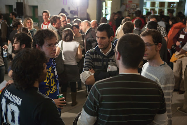 people at the App Date Madrid