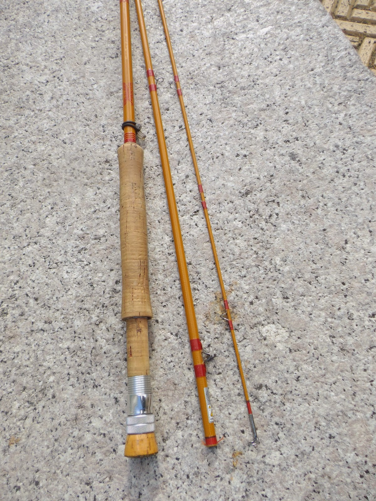 Japanese fiberglass flyrods the great lakes of nyc for Fiberglass fishing rods