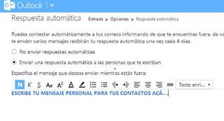configuracion de outlook correo