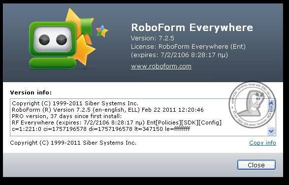RoboForm 8.5.8.8 Crack