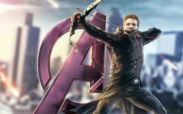 Avengers Hawkeye wide wallpaper