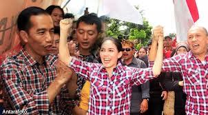 Kotak-kotak Rieke bukan kotak-kotak Jokowi