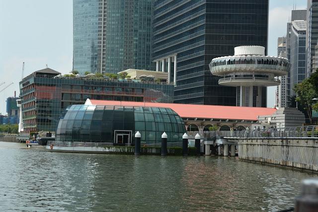 Singapore River Cruise UFO