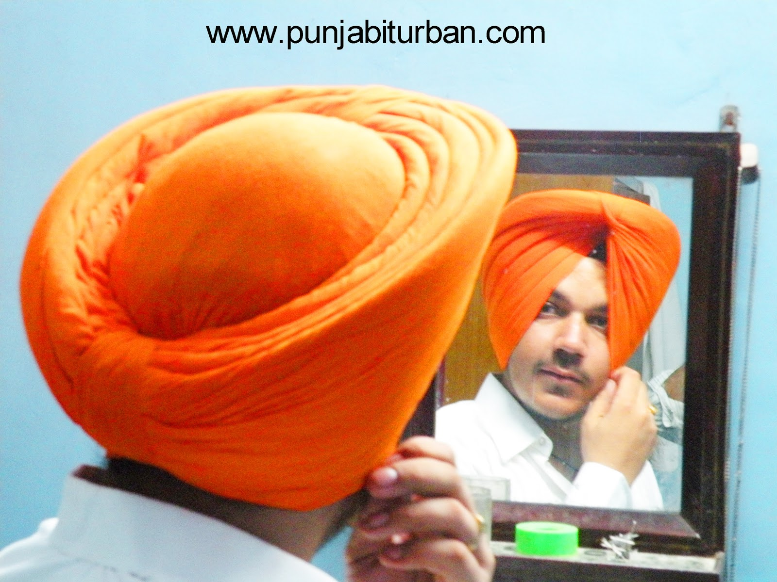 Patiala shahi turban fans pagg