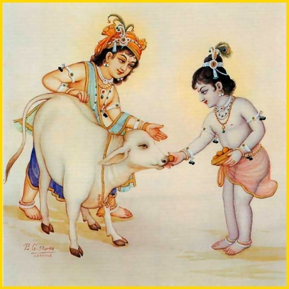 Shri Krishna Balram Images for free download