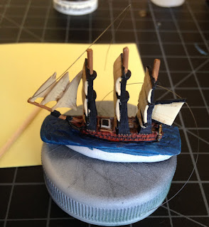 Tumbling Dice, 1:2400, Age of Sail