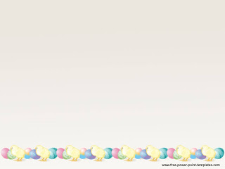 Free download Easter PowerPoint template 002B