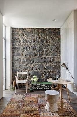 intérieur pierre naturelle