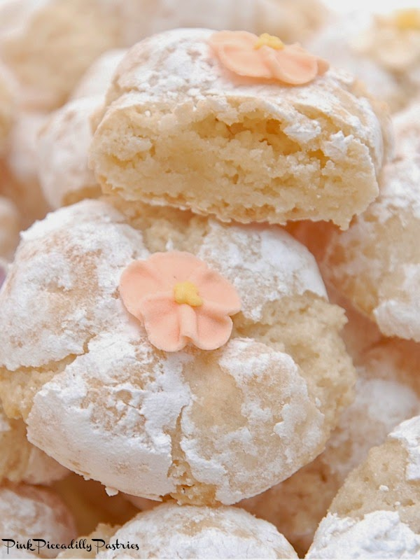 pink piccadilly pastries fabulous italian amaretti