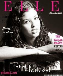 Montagem capa de revista