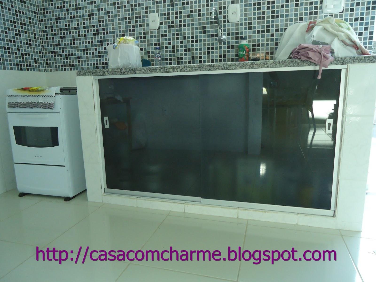Casa com Charme Mais portas -> Armario De Banheiro Com Vidro Jateado