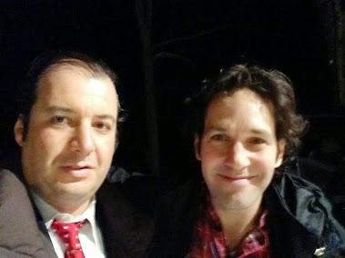 Danya Polykov and Paul Rudd, 12.2012