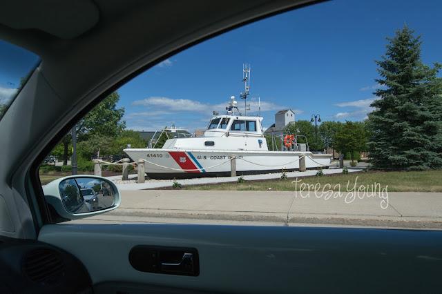 USCG United States U.S. Coast Guard Sturgeon Bay Wisconsin Door County boat maritime museum Volkswagen Beetle