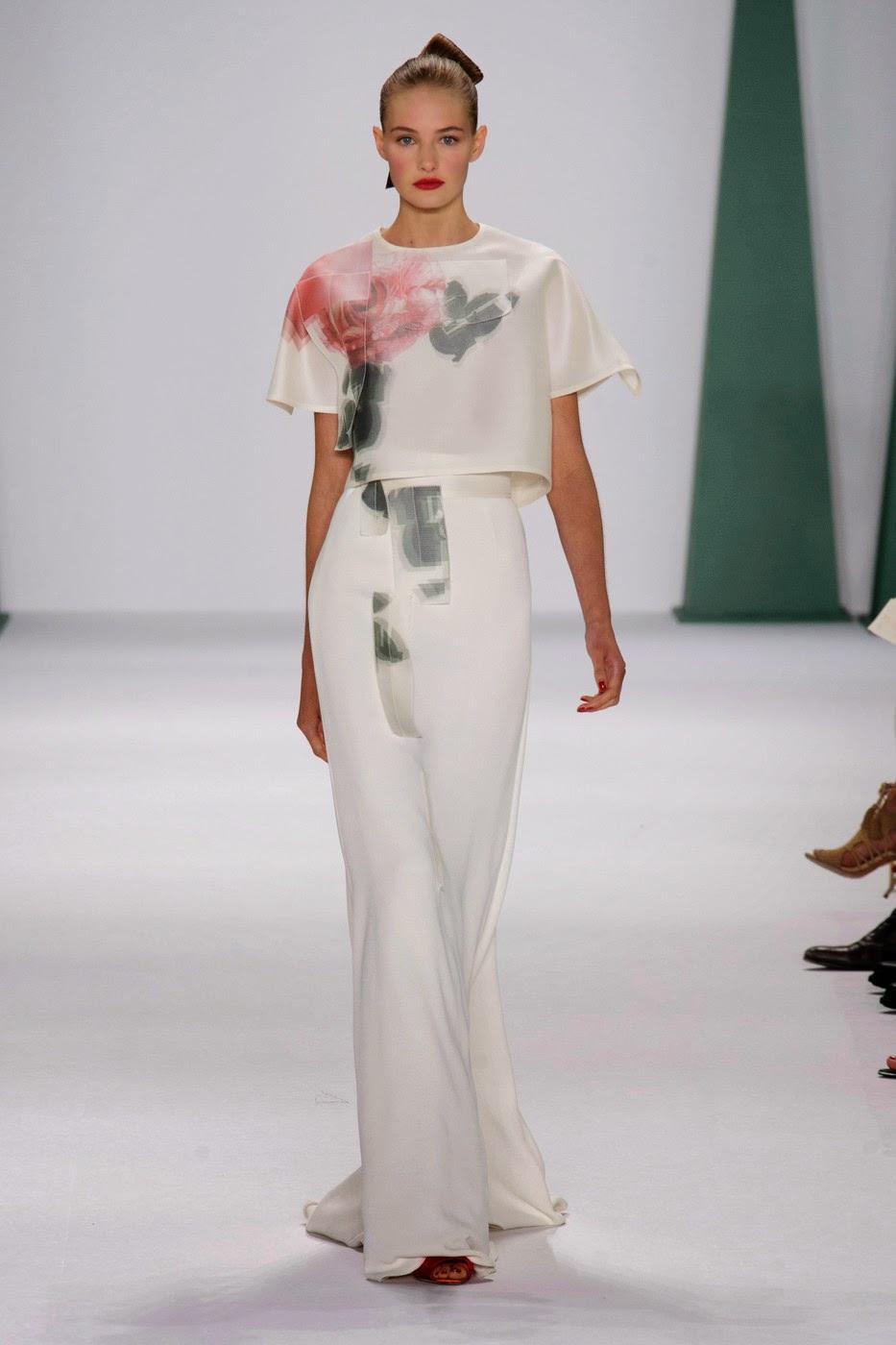 Carolina Herrera Fashion Show Spring