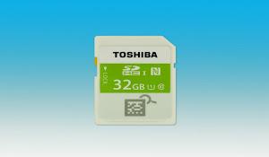 Toshiba NFC Destekli SD Kart