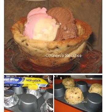 http://coleensrecipes.blogspot.com/2012/05/cookie-bowls.html