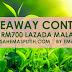 Giveaway Contest RM700 Jualan Hebat Lazada Malaysia 11/11 by Emas Putih