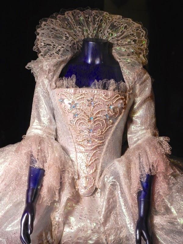 Cinderella Fairy Godmother dress detail