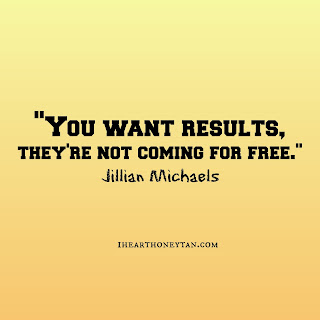 You want results, they're not coming for free jillian michaels workout quote
