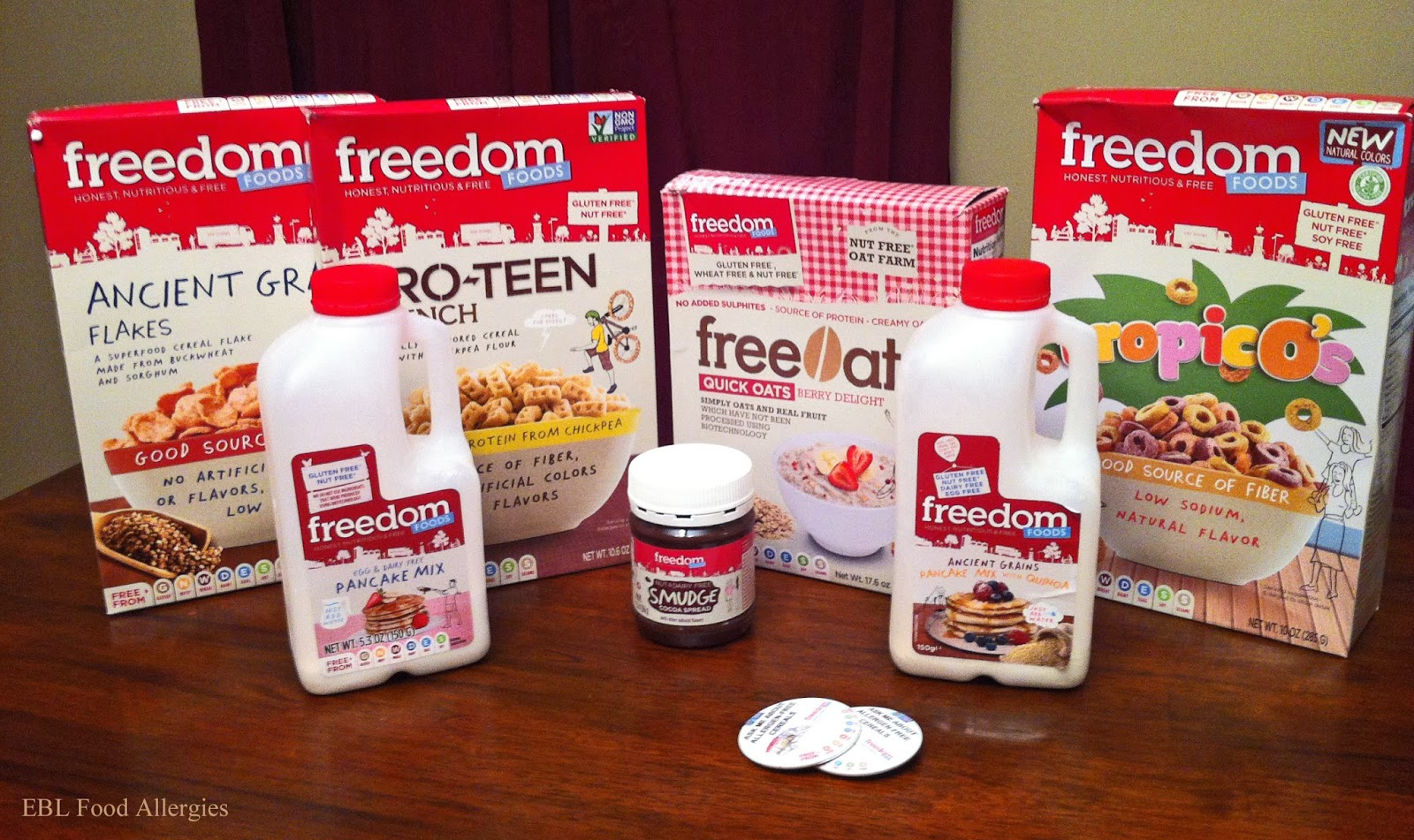 EBL Food Allergies: Freedom Foods, Allergy-Friendly Ancient Grain Flakes
