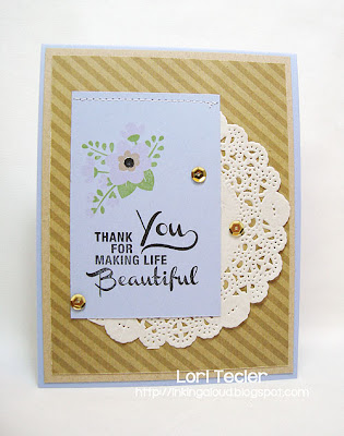 Thank You for Making Life Beautiful-designed by Lori Tecler-Inking Aloud-stamps from Avery Elle