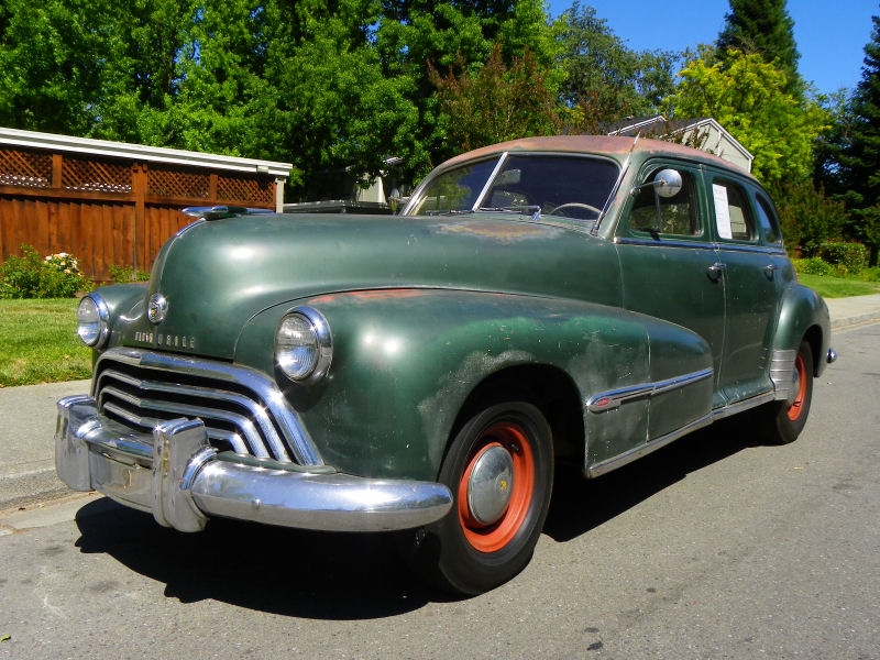 California streets danville street sighting 1948 for 1948 oldsmobile 4 door sedan