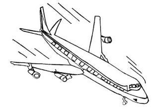 dicas de Desenhos de Avião para imprimir