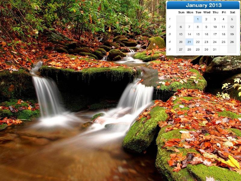 Calendar Wallpaper Nature : Beautiful nature desktop calendar wallpapers