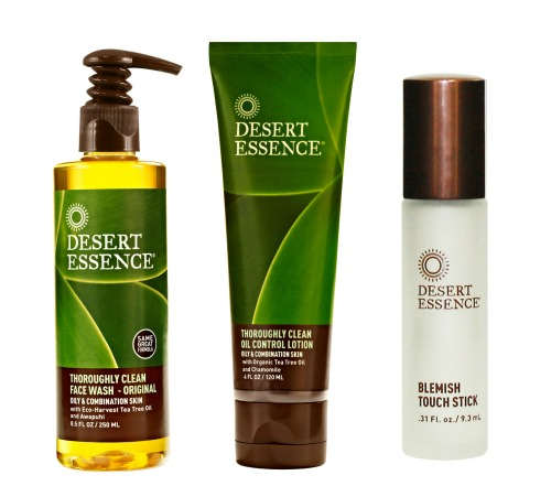how to use desert essence blemish touch stick